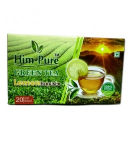 Green Tea–Lemon Exquisite Tea By Himalaya Natural & Herbal Products
