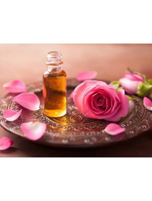 Rose Pure Natural Floral Perfume (10gm) By Hadaf Exports