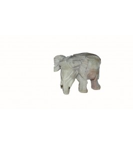 Varanasi Soft Stone Elephant By Verma HandiCrafts