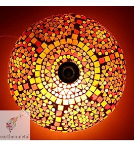 Firozabad Glass Antique Multicolor Light For Home Decor By New Make In India