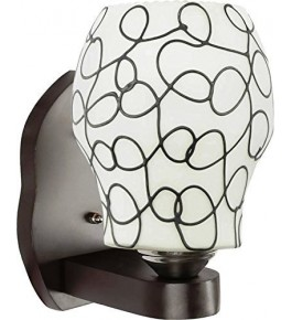Stylish Black Line Dome Shaped Fancy Wall Light For Decoration By New Make in India