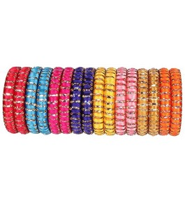 Beautiful Designer Royal Silk Thread Bangle For Women & Girls By New Make in India