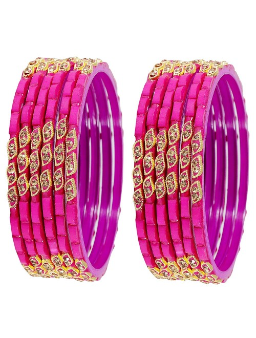 Beautiful & Stylish Design Glass Bangles For Women &  Girls By New Make in India