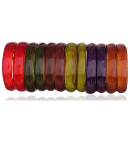 Matte Finish Transparent Glass Kada For Women By New Make in India