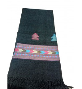Hand Woven & Crafted Kullu Woolen Shawl For Women By Vandana Enterprises