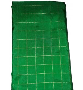 Handloom Molakalmuru Pure Silk Green Saree For Women