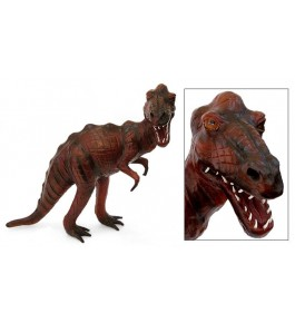 Genuine Leather Animal Dinosaur Toy By Rainbow Art Center