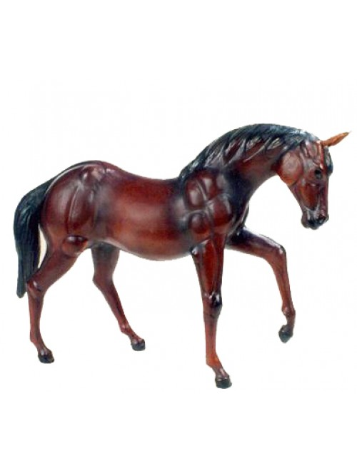 Genuine Leather Animal Horse Toy By Rainbow Art Center