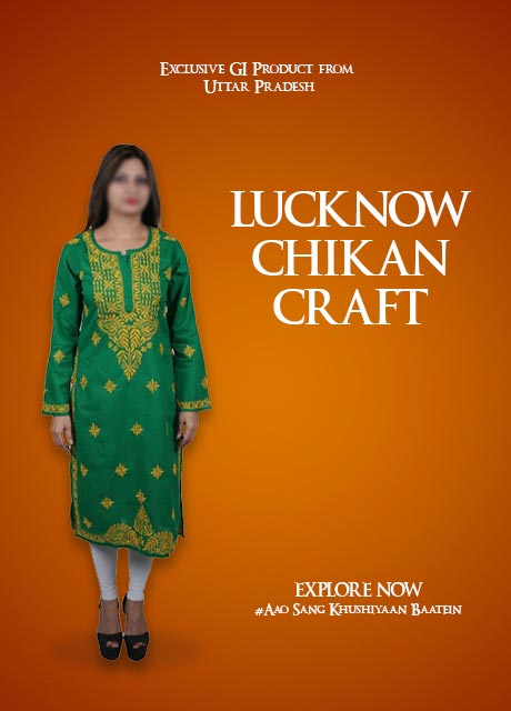 LUCKNOW CHIKAN CRAFT