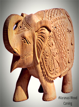 VARANASI WOOD CARVING ...