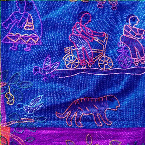 SUJINI EMBROIDERY WORK OF BIHAR