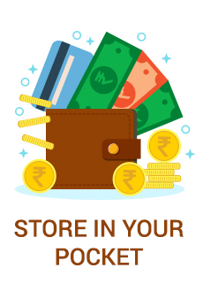 STORE IN YOUR POCKET