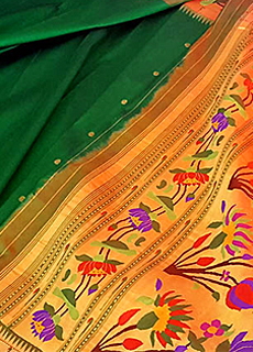 PAITHANI SAREES AND FABRICS